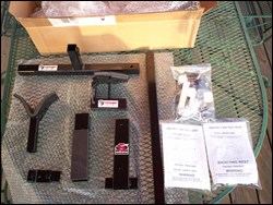 CTK Precision Shooting Rest and Gun Vise Parts