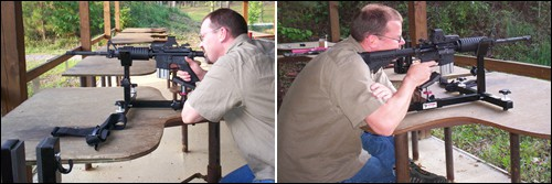 Shooting Rest M&P Rifle