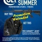 Colt Extends Carhartt Jacket Promo