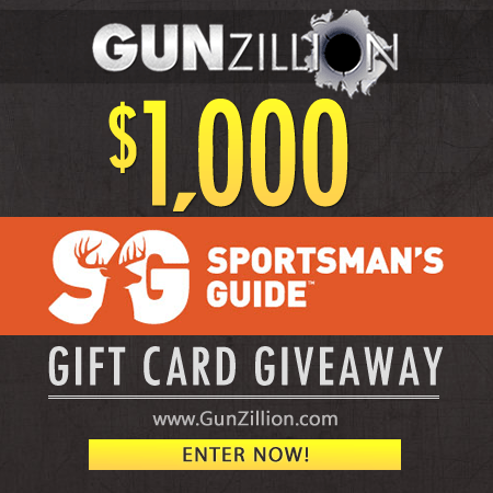 GunZillion Begins Sportsman's Guide Gift Card Giveaway - ArmsVault