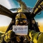 Dead Air Armament Helicopter Selfie