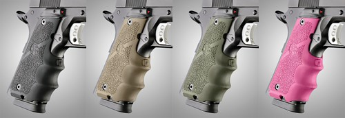 Hogue Laser Enhanced Grip for 1911 Government Models
