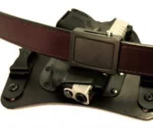 ARES AEGIS Crossover Belt shown with the Black Ares Buckle