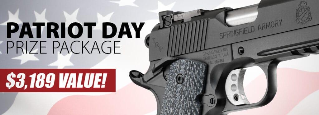 Springfield 1911 TRP Engraved Handgun Giveaway
