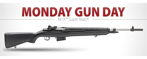 Springfield M1A Super Match Rifle