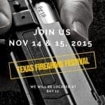 IWI US Exhibits at 2015 Texas Firearms Festival