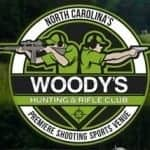 Woodys Hunting and Rifle Club Logo