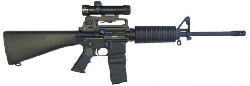 AR15 with MAG Coupler