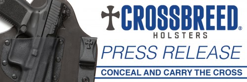 CrossBreed Holsters Press Release