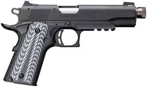 Browning Black Label 1911-22 Full Size Suppressor Ready with Rail