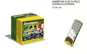 Remington American Clay and Field Reloadable Sport Loads