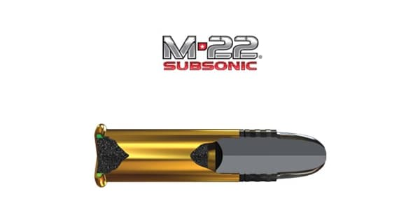 Winchester M-22 Subsonic Ammo - ArmsVault