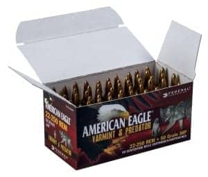 Federal American Eagle Varmint and Predator Ammunition Bulk Packs