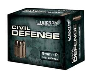 Liberty Ammunition Civil Defense 9mm