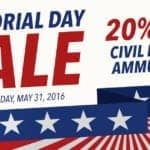 Liberty Ammunition Memorial Day Sale