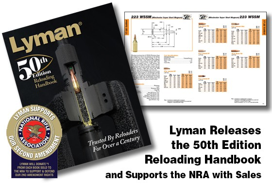 Lyman 50th Edition Reloading Handbook