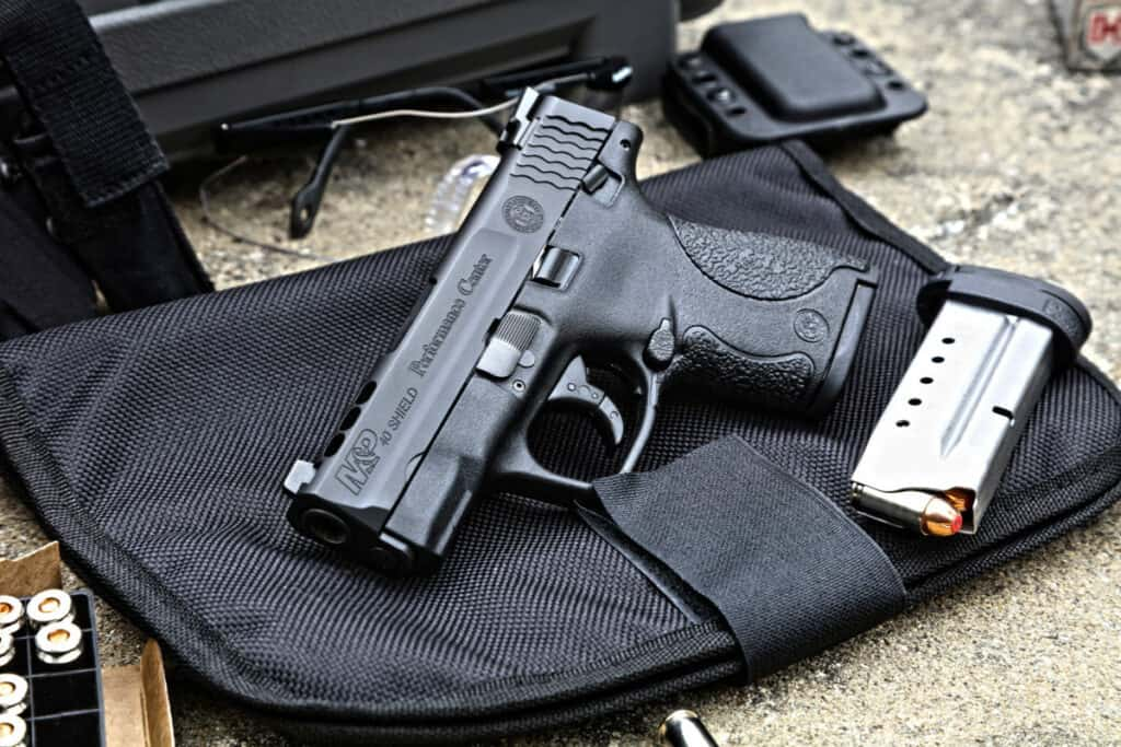 S w m p shield ported models with tritium night sights for M p ported shield 9mm