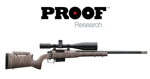 Proof Research Carbon Fiber Firearms Technology Armsvault