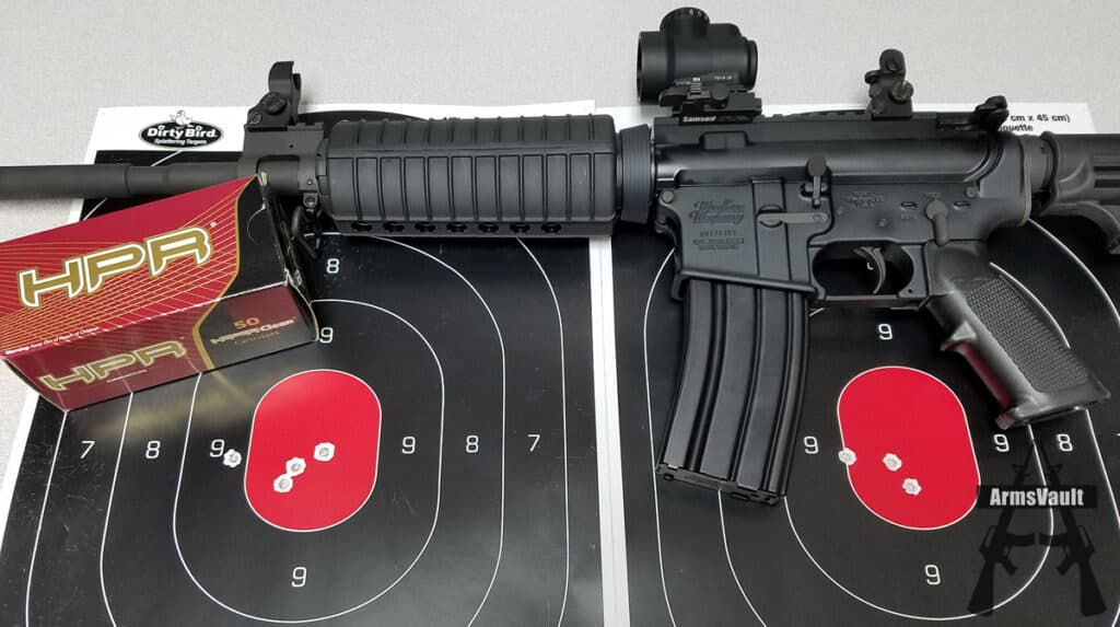 Windham SRC with Samson Quick Flip Sights