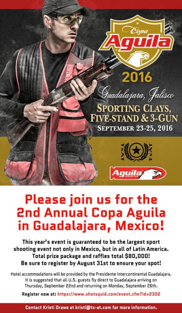 Copa Aguila Sporting Clays Tournament