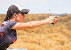 Jessie Duff at World Speed Shooting Championship
