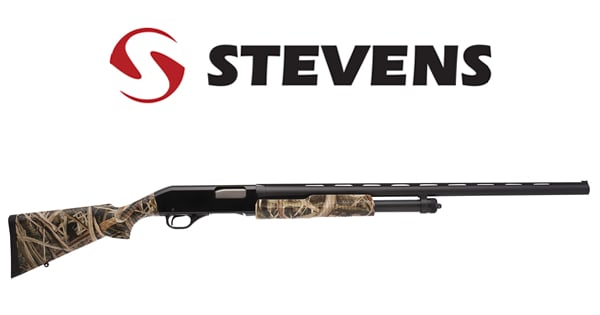 Stevens 12 Gauge Model 320 Waterfowl Camo Pump Shotgun