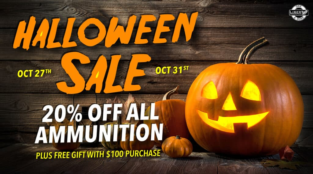 Liberty Ammunition Halloween Ammo Sale