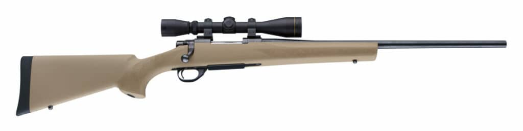 Hogue Flat Dark Earth Rifle Stock on Howa 1500