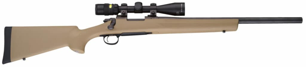 Hogue Flat Dark Earth Rifle Stock on Remington 700