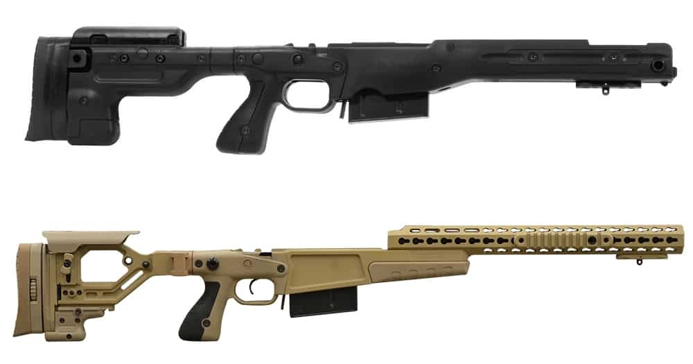 Remington 700P Barreled Action-Chassis Kits