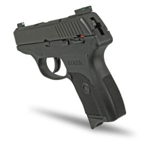TRUGLO TRITIUM PRO Night Sights on Ruger LC9