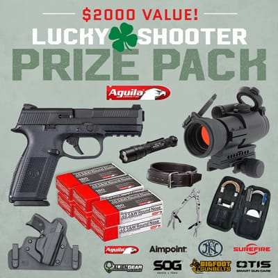 Aguila Ammunition Lucky Shooter Sweepstakes
