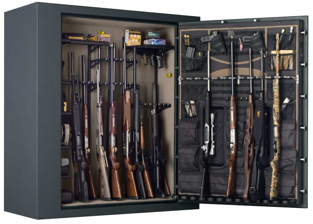 Browning Hells Canyon Extra Wide Safe - Interior