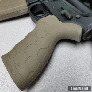 Hexmag Tactical Grip on Smith and Wesson MP15T