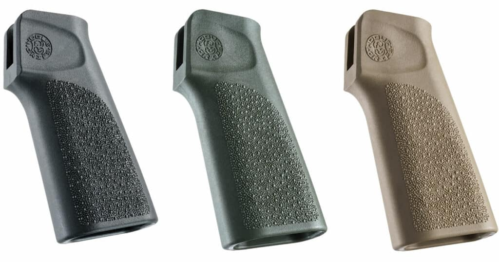 Hogue Polymer 15 Degree Vertical Grips for AR15 Grips