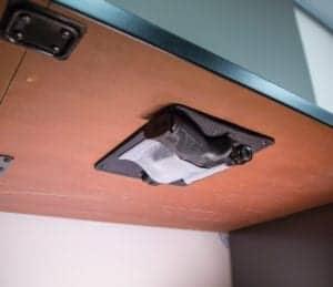 Under Desk Holster Ideas For Old School Desks