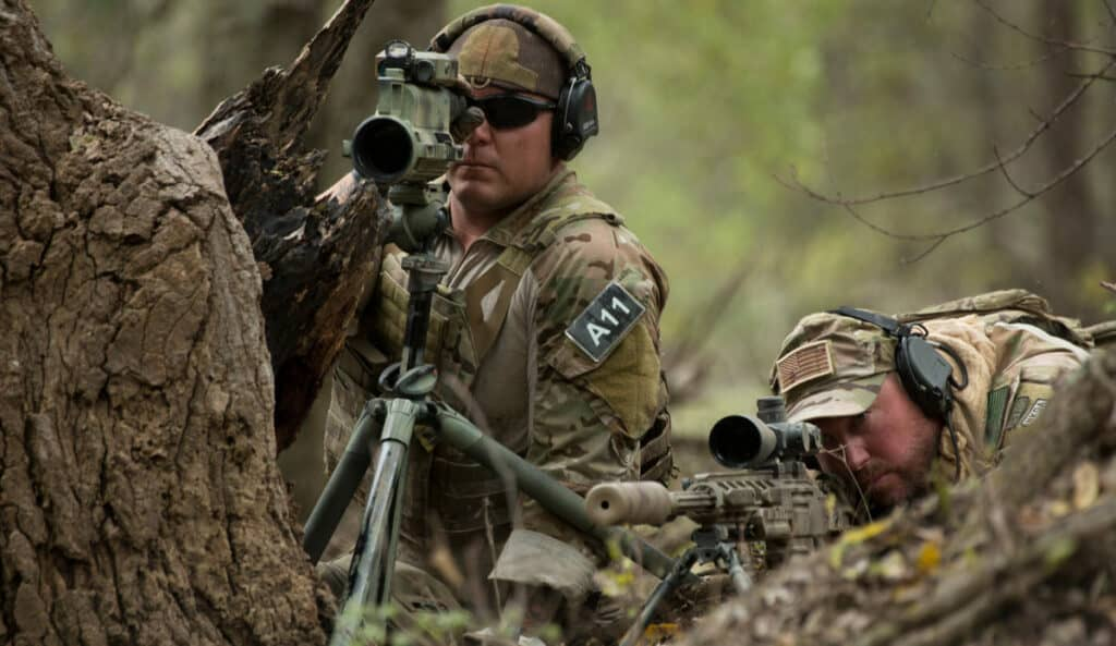 SureFire Exhibiting at 2017 USASOC Sniper Competition