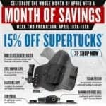 CrossBreed Holsters 15 Percent Off SuperTuck Holsters