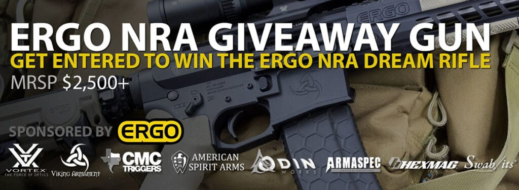 nra banned guns giveaway ergo giveaway gun package includes swab its cleaning swabs 5499