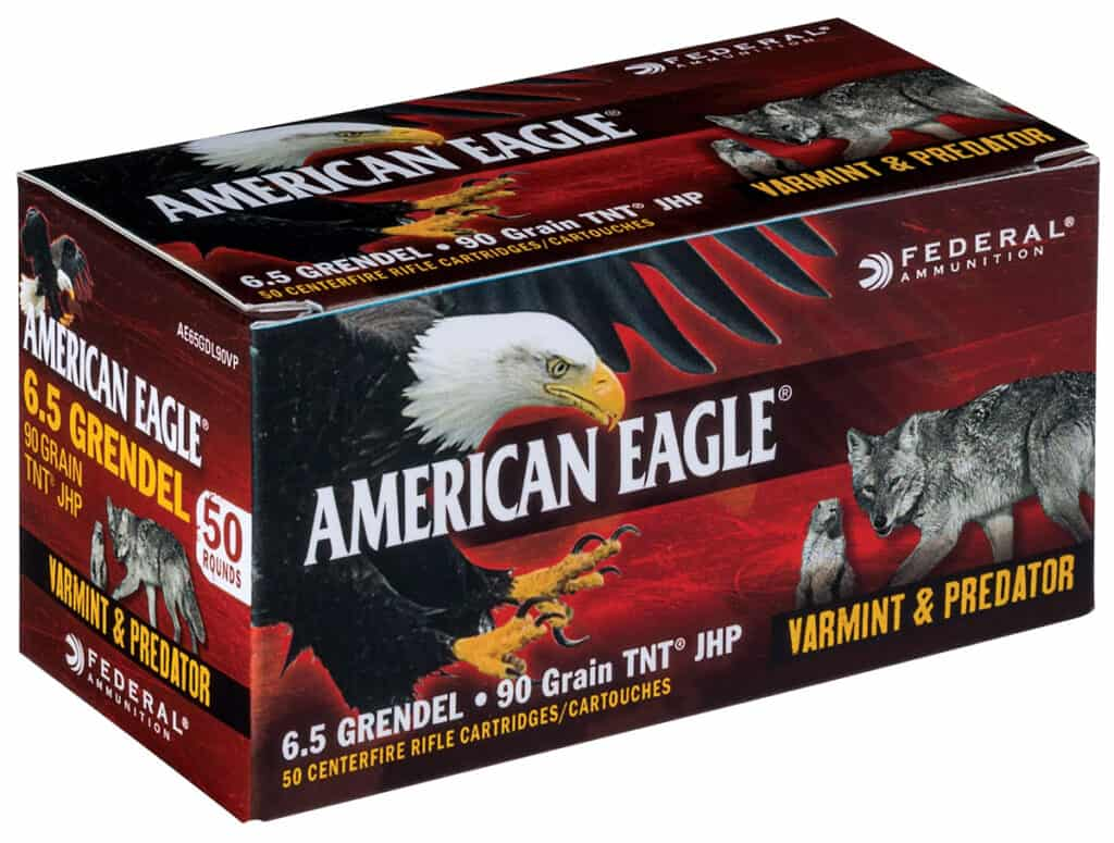 Federal American Eagle 6 5 Grendel Varmint & Predator