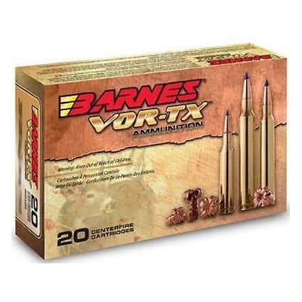 Barnes Bullets 300 Weatherby 180 grain TTSX VOR-TX Ammunition - Safety Recall