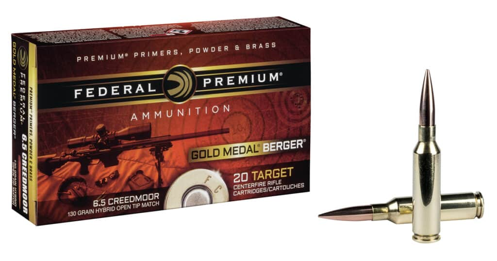 Federal Gold Medal Berger Ammunition