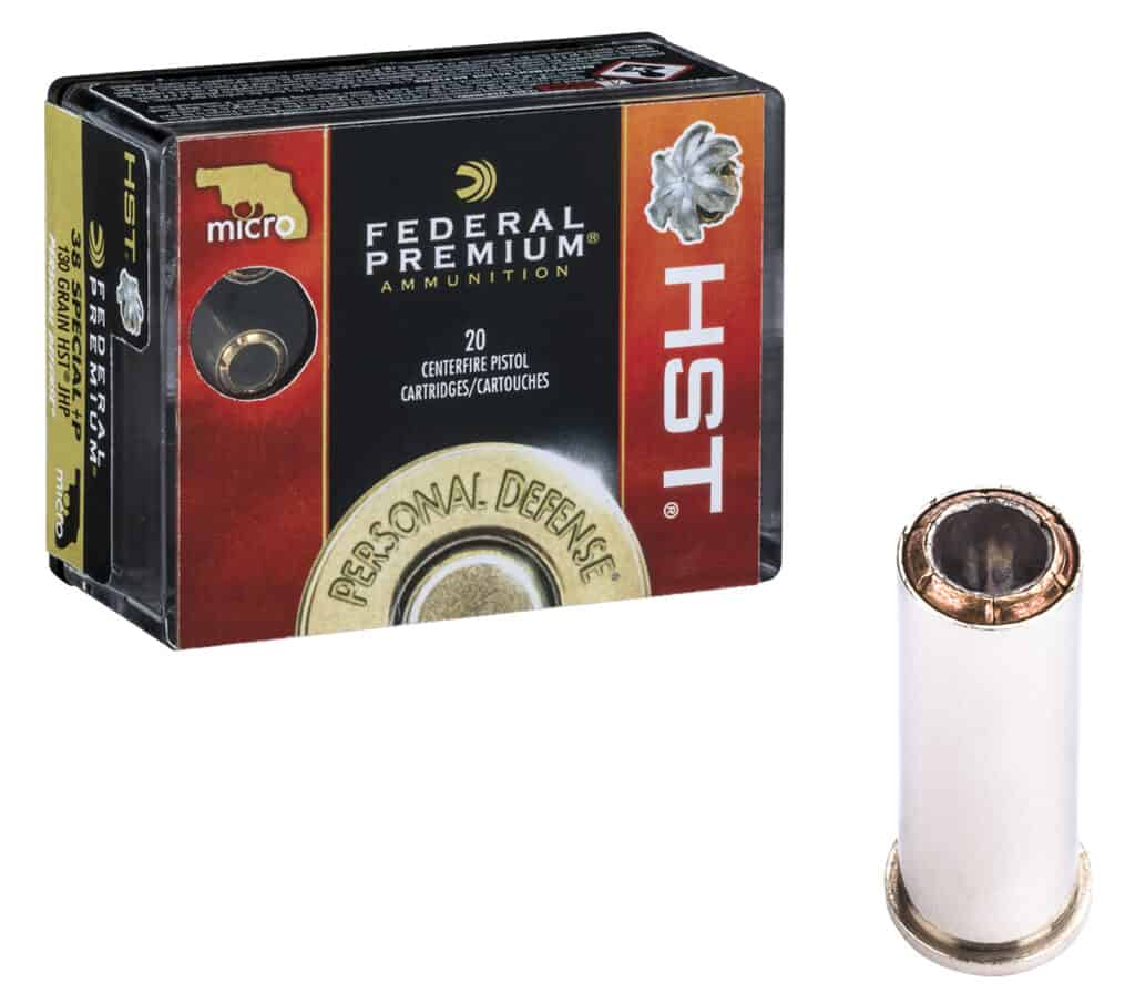 Federal Premium HST Micro Lineup 38 Special P
