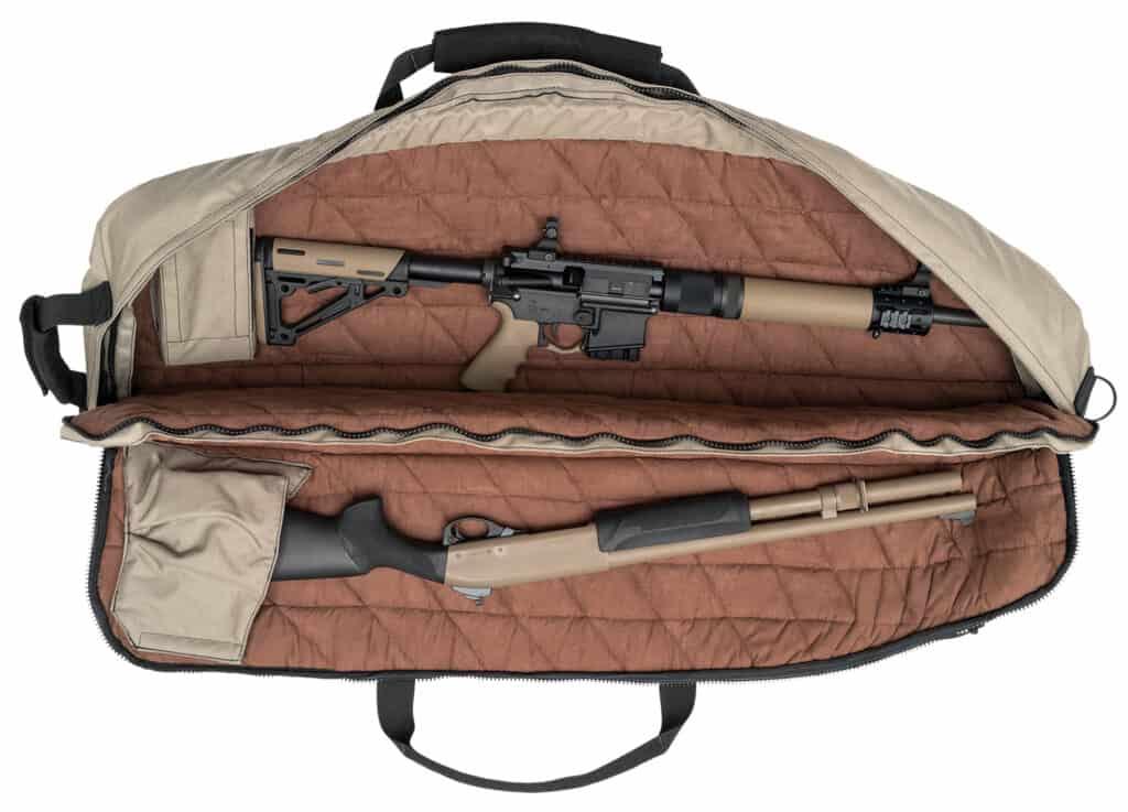 Hogue Large Rifle Bag - FDE_open