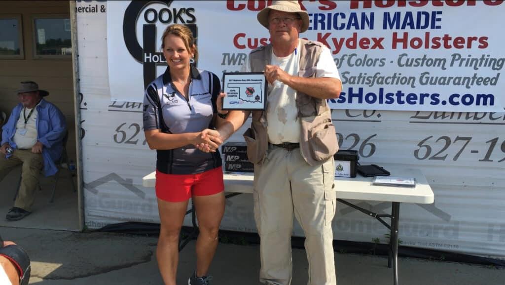 Mandy Bachman won ESP Division Champion