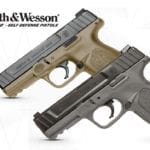 Smith & Wesson Flat Dark Earth and Gray Self Defense Pistols