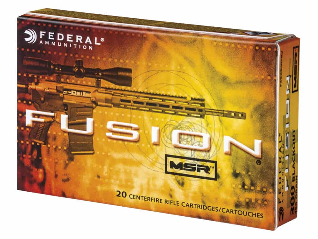 Federal Fusion MSR 300 Blackout Ammunition