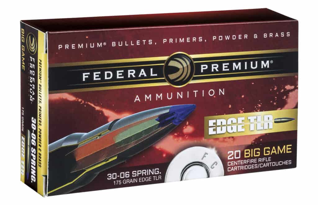 Federal Premium Edge TLR All-Range Rifle Ammunition