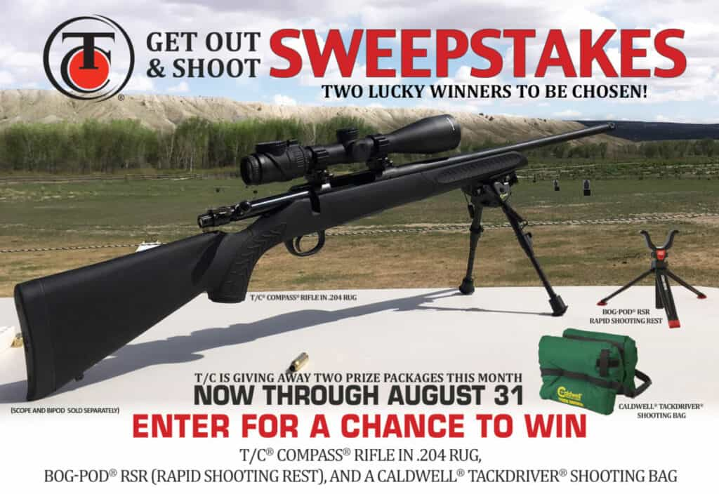 Thompson-Center Arms TC Compass Get Out and Shoot Sweepstakes