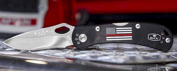 Buck Knives 722 Red Line SpitFire